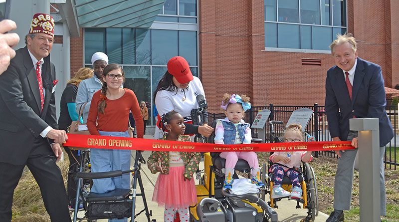 Playground Opens for Patients